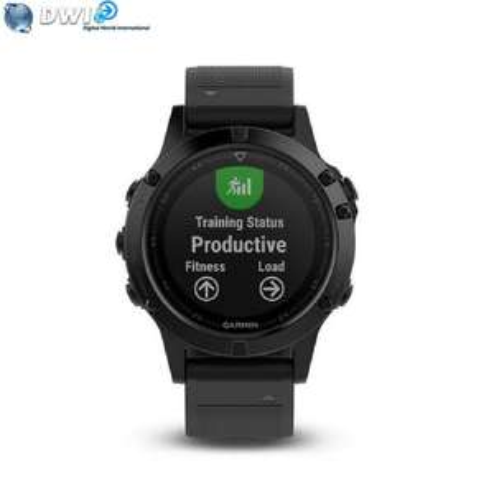Montre GPS Garmin Fenix 5 Sapphire - Noir (dwi-digital-cameras) - Paiement Paypal