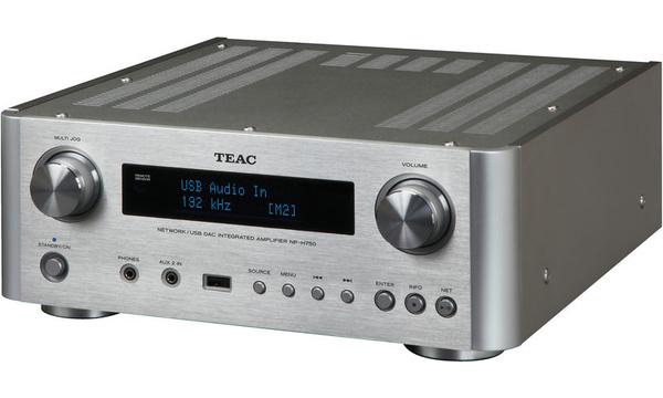 Amplificateur 2X40W / DAC / Lecteur réseau Teac NP-H750 S