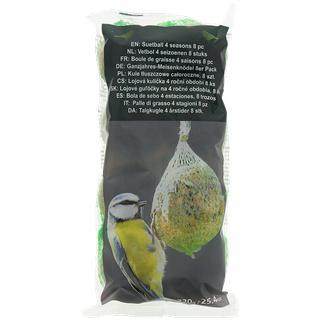 Nourriture pour oiseaux - Lot de 8 boules de graisse