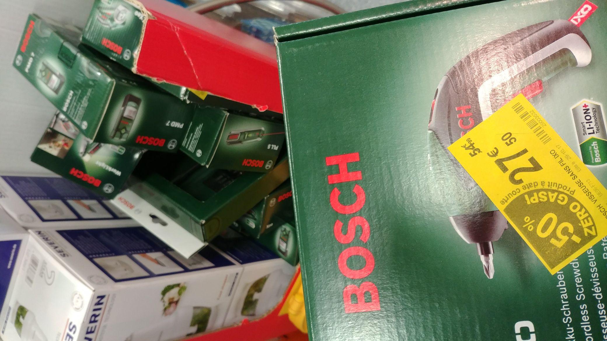 50% de réduction sur une sélection d'outils Bosch - Ex :  Visseuse sans fil Bosch XO V Mediumcasino market Perpignan au rond-point du moulin à vent. - Perpignan (66)