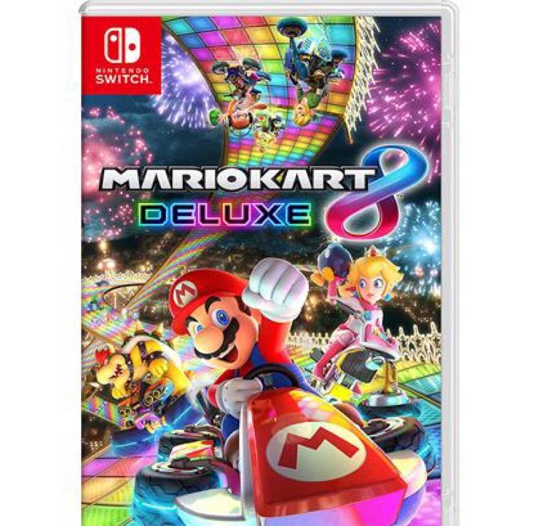 Mario Kart 8 Deluxe sur Nintento Switch + 2 volants Big Ben offerts