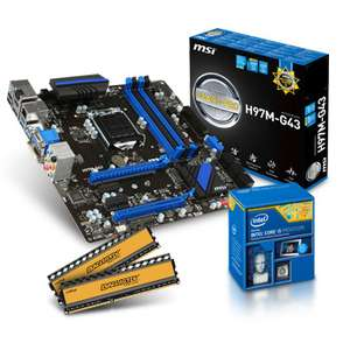10% de réduction sur les kit d'évolutions avec processeur Intel