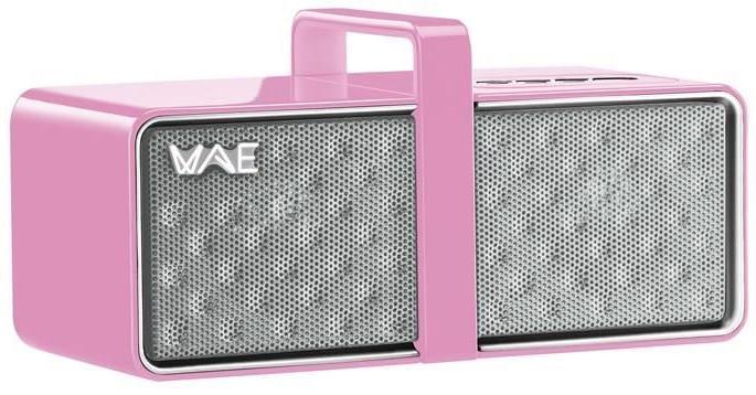 Enceinte bluetooth WAE BTP03 portable mini noir / rouge / rose