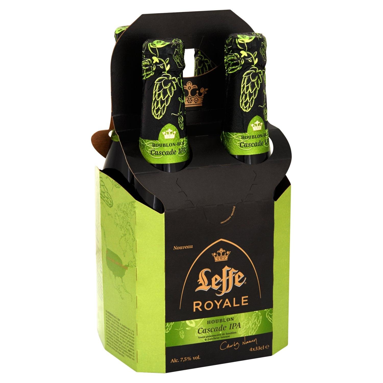 3 packs de 4 bières Leffe Royale - 33 cl (Écully - 69)