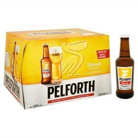 Pack de 20 bières Pelforth blonde - 20x25cl (via TF1 Conso)