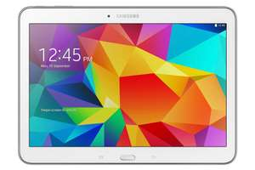 """Tablette 10.1"""" Samsung Galaxy Tab 4 16 Go Wifi - Blanc"""