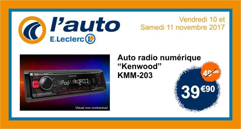 Autoradio Kenwood KMM-203 -  Pau (64)