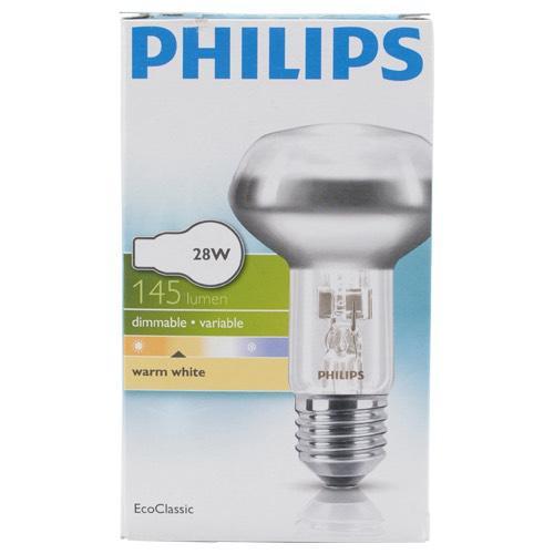 Ampoule Philips lampe halogène E27 28W (40W)145 Lumens