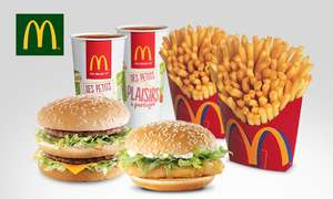 2 Menus Maxi Best Of chez McDonald's