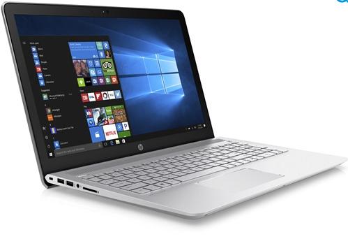 """PC Portable 15.6"""" HP 15-cc500nf - Full HD, i3-7100U, Intel HD620,  6 Go RAM, HDD 1 To + 128 Go, Windows 10"""