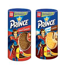 Optimisation de la marque LU grace au bon de réduction spécial mavieencouleurs ( Exemple 2 lots de Prince )