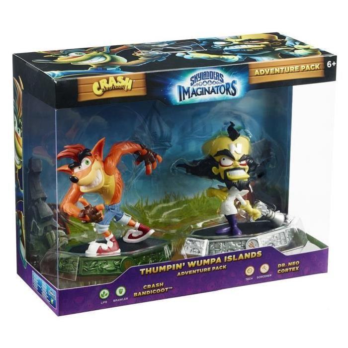 [Cdiscount à Volonté] Pack de figurines Skylanders Imaginator - Crash Bandicoot