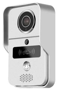 Visiophone KONX KW02C RFID - WiFi + Badges + Relais + Sonnette 433 Mhz