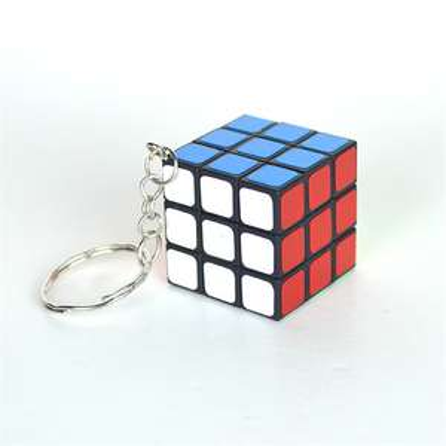 Porte-clés Cube puzzle - 3x3x3cm