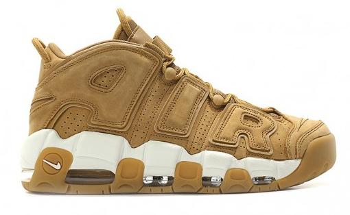 Baskets homme Nike Air More Uptempo '96 Premium 'Flax' - Tailles du 42 au 46
