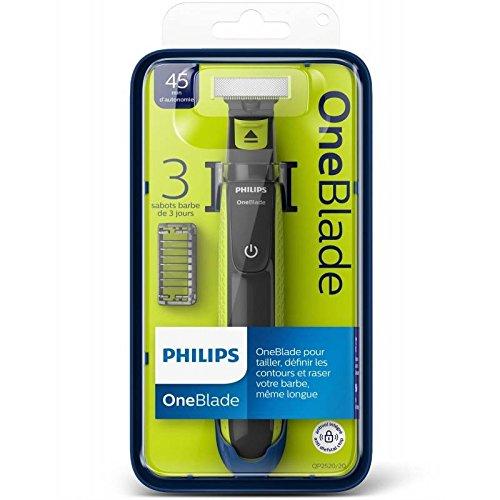 Rasoir Philips OneBlade + 3 Sabots (via 13.50€ sur la carte)