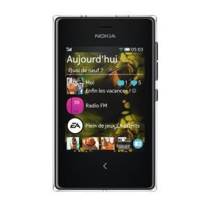 "Smartphone 3"" Nokia Asha  503 Noir"