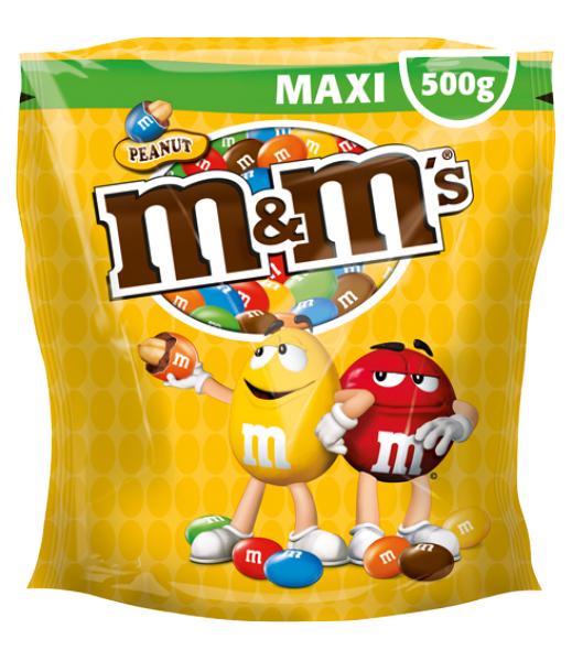 Sachet de M&M's 500g à 1.70€ (via 1.70€ sur la carte, E.Leclerc Ouest)
