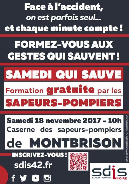 Formation gratuite aux gestes qui sauvent - Loire (42)
