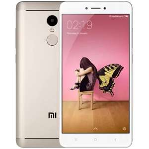 "Smartphone 5.5"" Xiaomi Redmi Note 4 (Global) Or - Full HD, Snapdragon 625, RAM 4 Go, ROM 64 Go (Avec B20)"