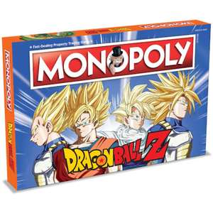 Jeu de société Winning-Moves Monopoly - Dragon Ball Z (En anglais)