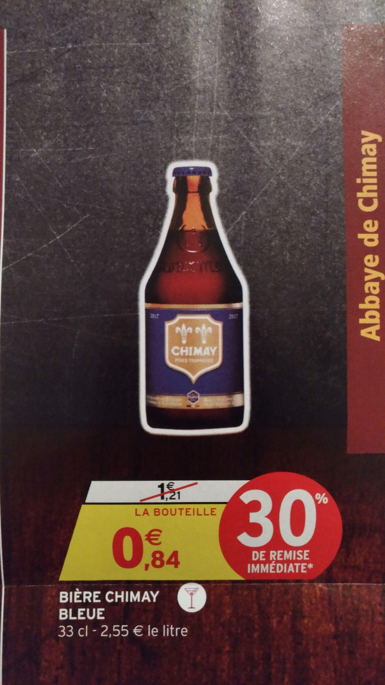 Bouteille de Bière Chimay Bleu - 33 cl