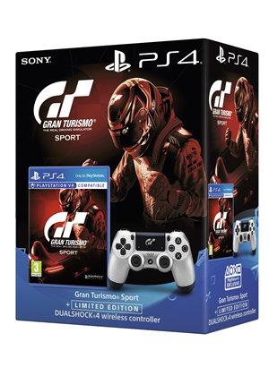Gran Turismo Sport sur PS4 + Manette DualShock Limited Edition V2