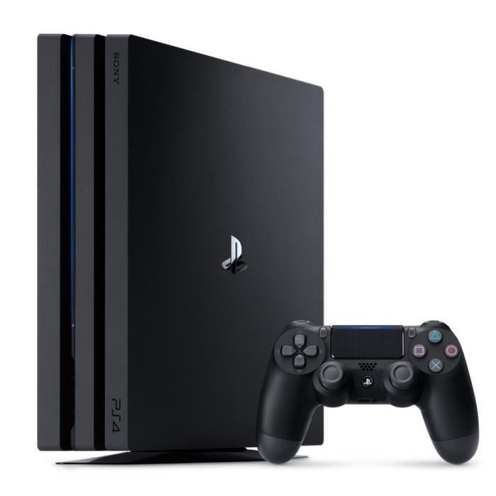 Console Sony PS4 Pro 1 To - Nue à 327.99€ ou avec 2ème Manette (+ Qui-es-tu ?) à 357.99€