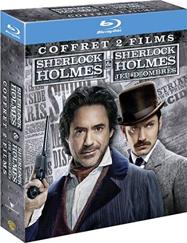 Coffret Blu-Ray - Sherlock Holmes + Sherlock Holmes : Jeu d'ombres