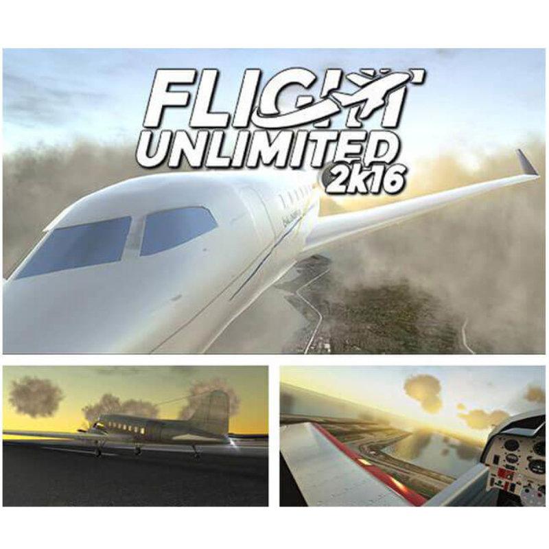 Flight Unlimited 2K16 gratuit sur Windows 10 (au lieu de 14.99€)