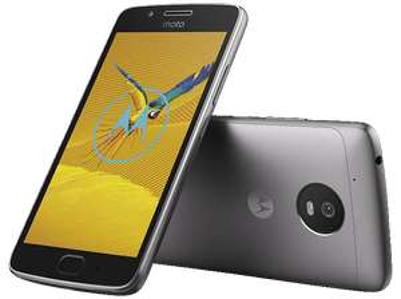 "Smartphone 5"" Motorola Moto G5 - 16Go, Android 7.0, Gris"