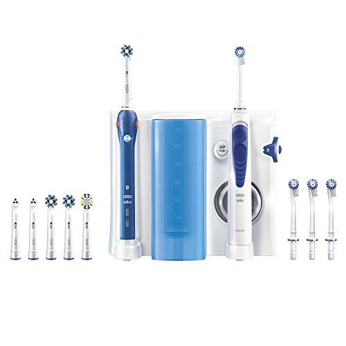 Combiné Dentaire Oral-B -  Brosse à Dents Electrique PRO 5000 Smart Series + 6 Brossettes + Jet Dentaire OxyJet + 4 Canules (Via ODR 40€)