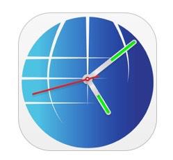Application World Clock Widget instant world timezone Gratuite (au lieu de 0,99€)