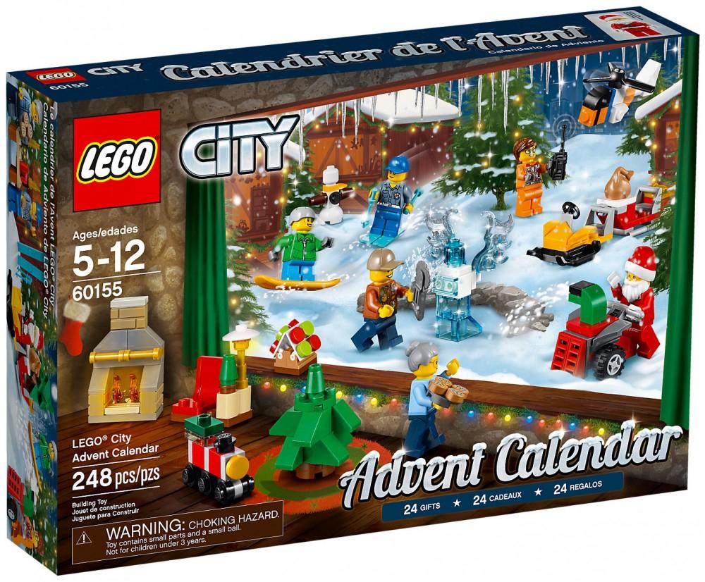 Calendrier de l'avent LEGOCITY ou LEGOFRIEND offert dès 69€ d'achat