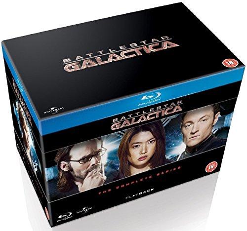 Coffret Blu-ray Battlestar Galactica - L'Intégrale de la Série (VO/ST)