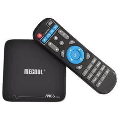 Box Android Mecool M8S Pro - S905X, 2 Go de Ram, 16 Go