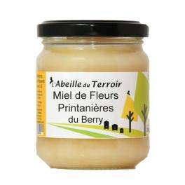 Pot d'1kg de Miel De Fleurs Printanières Crémeux (France)