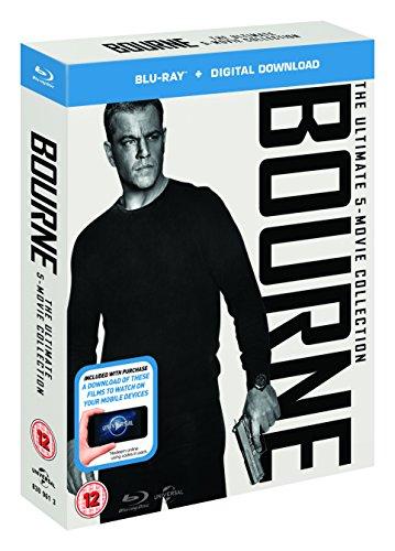 Coffret Blu-ray The Bourne Collection (+ version numérique)