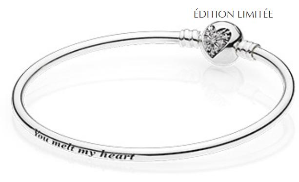 Bracelet Pandora edition limitée offert dès 129 euros d'achat