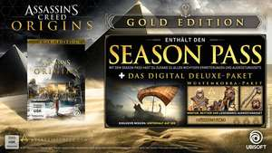 Assassin's Creed Origins Gold Edition - Le jeu + Season Pass sur PS4 ou Xbox One