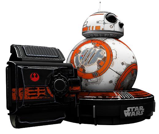 Jouet Star Wars Sphero Droïd BB-8  + Bracelet Star Wars Force Band