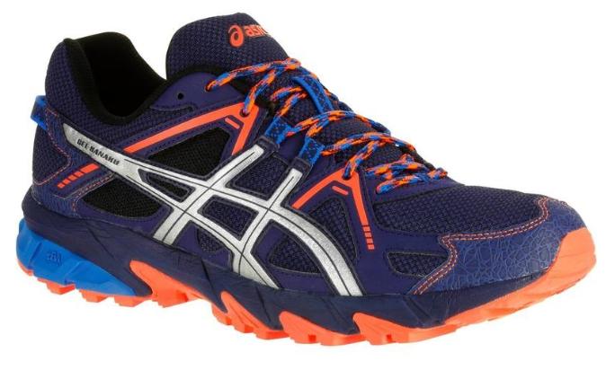 Chaussures de Trail Asics Gel Kanaku 2  Bleu pour Hommes - Tailles au choix