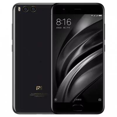 """Smartphone 5.15"""" Xiaomi Mi6 Noir - Full HD, Snapdragon 835, RAM 6 Go, ROM 64 Go (Sans B20)"""