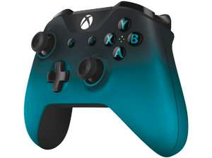 Manette sans-fil pour Xbox One - Ocean Shadow, Vert/Orange Camo ou Winter Forces (Frontaliers Allemagne)