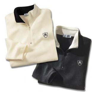 [Nouveaux clients] 2 Polos polaire à manches longues et col zippé - Taille M/L ou XL/XXL (Livraison incluse)