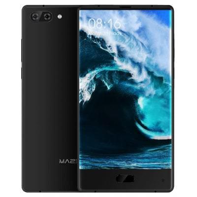 "Smarphone 6"" Maze Alpha Noir - Full HD, Double SIM, Helio P25, RAM 6 Go, ROM 64 Go, 4G (B20)"