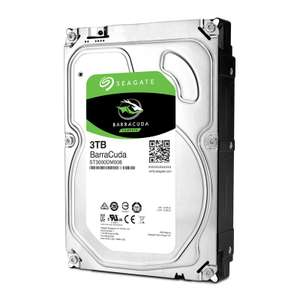 "Disque dur interne 3.5"" Seagate BarraCuda (7200 tours/min) - 3 To"
