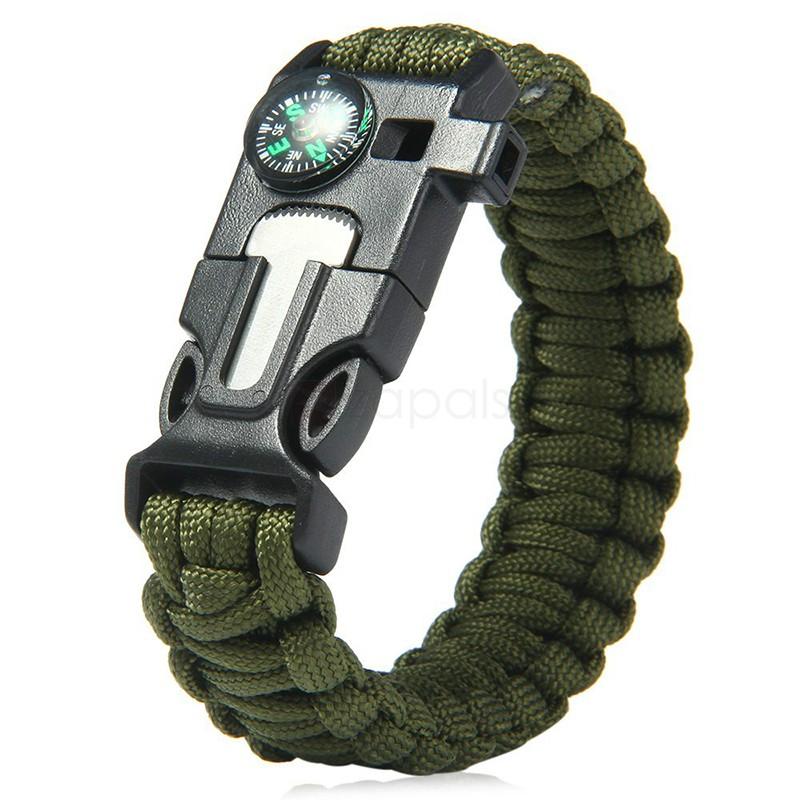 Bracelet de survie 5-en-1 (Livraison incluse)
