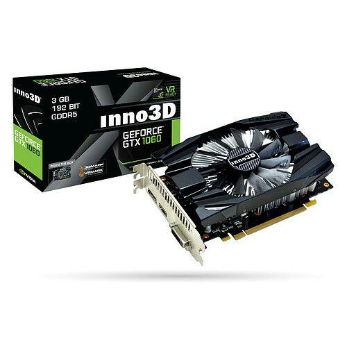 Sélection de carte graphique INNO3D - Ex: INNO3D GeForce GTX 1060 Compact 3 Go