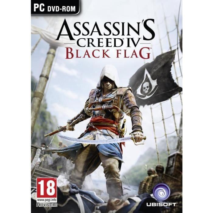 [Cdiscount à volonté] Jeu Assassin's Creed 4 : Black Flag sur PC